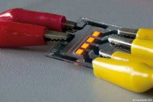 OLEDs on graphene